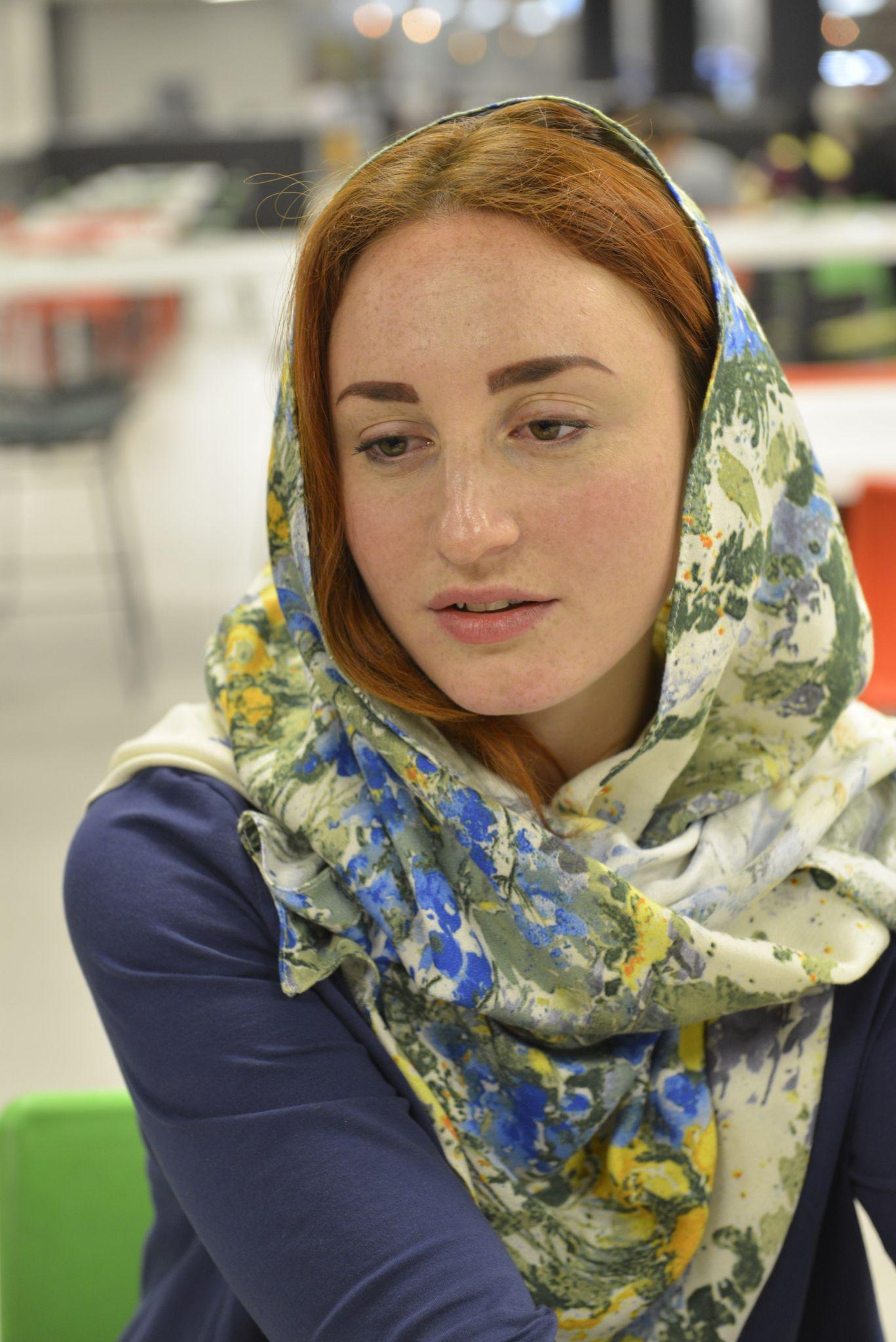 "I Would Play In An Iranian Movie;Arina Postolova, Ukrainian Actress of ""Song of Songs"""
