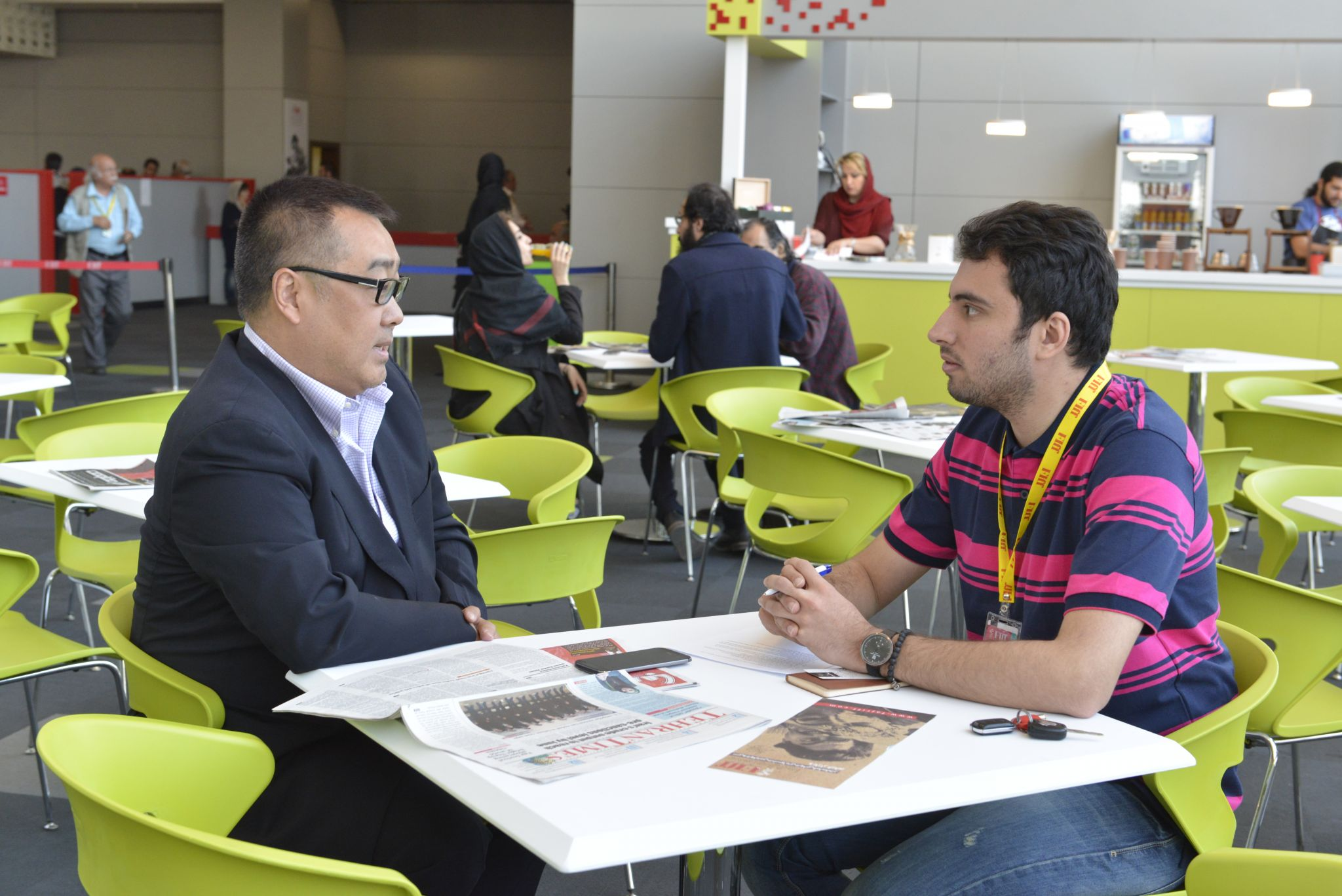 An interview with Jonathan Shen, the chairman of Shinework Media  I am in Tehran for the first co-production project between Iran and China with Jet Lee performance