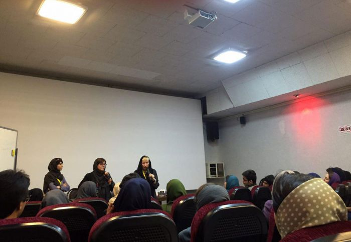 Claire Dobbin at Workshop;The Iranian Cinema Not Infected in the Way the American Cinema Has