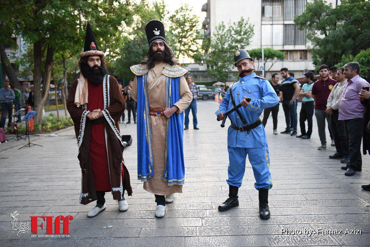 Fajr Film Festival's international guests on a Tehran-walking tour