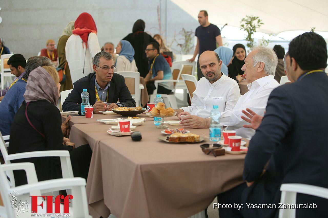 Festivalgoers Talk Film on the Sidelines