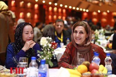 Fajr Film Festival dinner party at Ferdowsi Hotel, Tehran