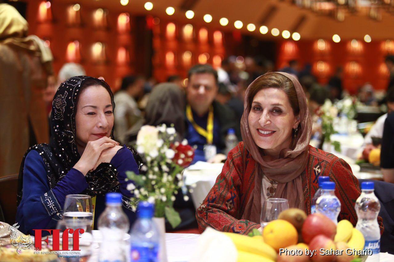 Fajr Film Festival dinner party at Ferdowsi Hotel, Tehran
