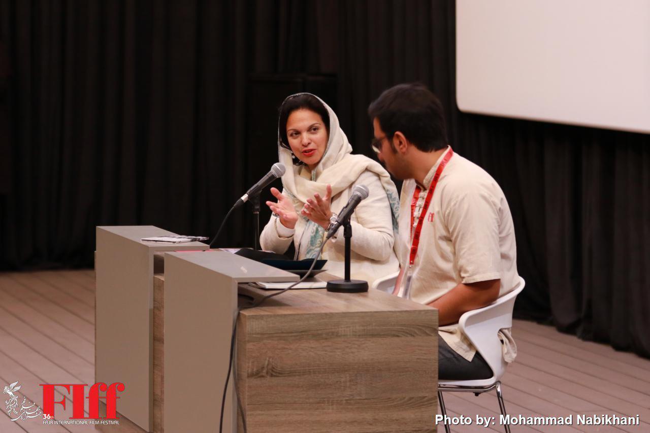 Isabelle Girodano Film Making Workshop at FIFF