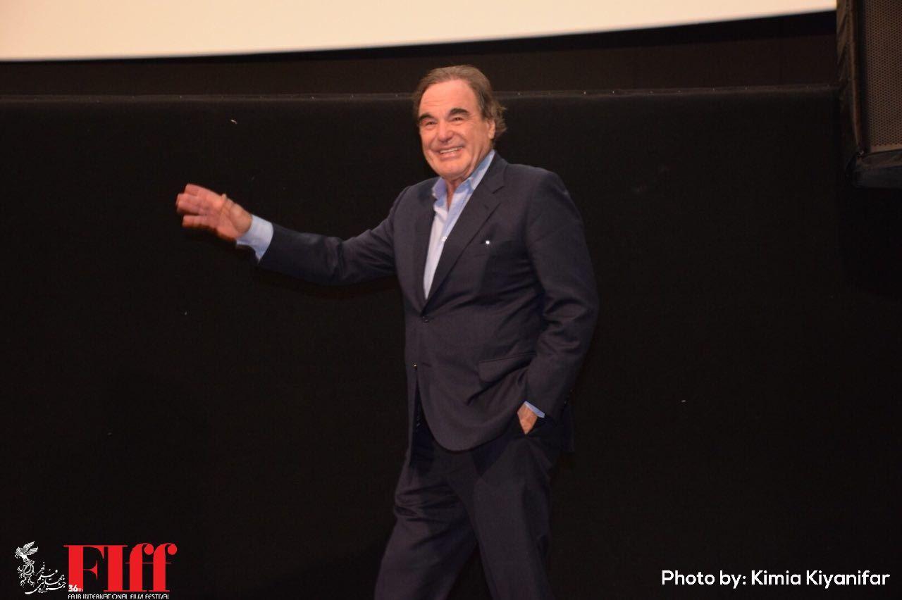 Oliver Stone's Panel on Film Directing in Felestin Cinema