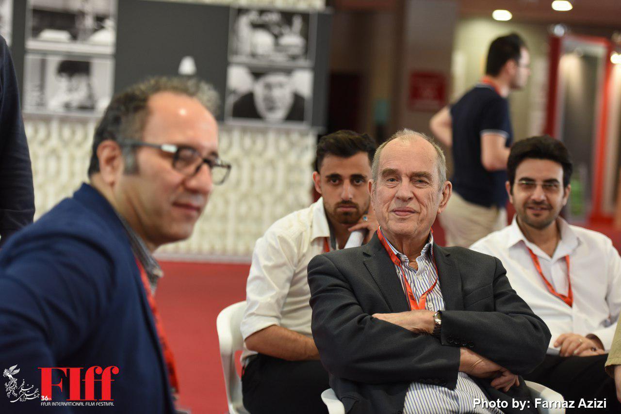 Jorn Donner Presser for FIFF at Charsou Cineplex