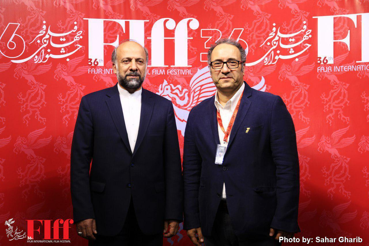 Culture Minister Abbas Salehi Takes a Tour of FIFF