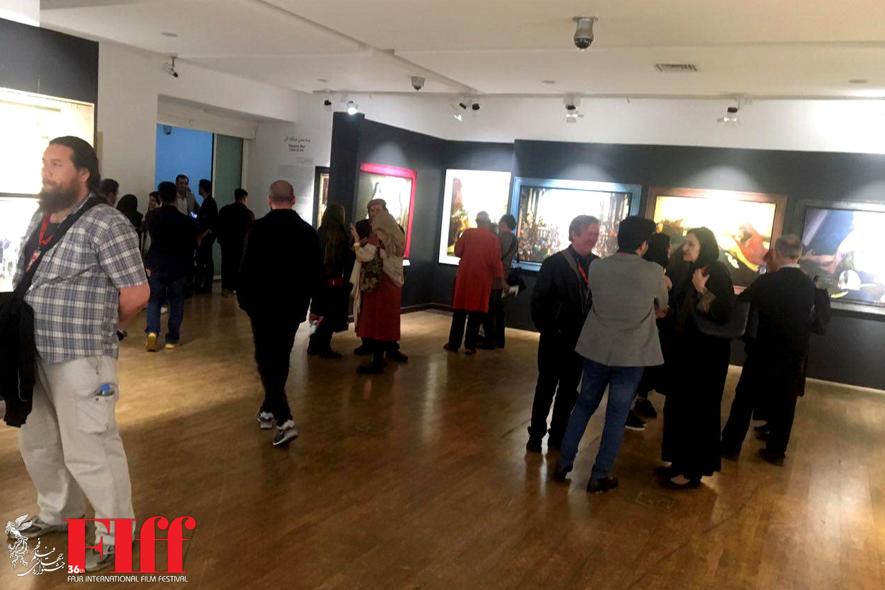 Fajr Filmfest Guests Visit Louvre Museum in Tehran