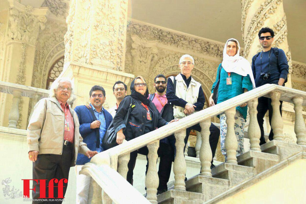 Fajr Film Jurors Visit National Museum of Cinema