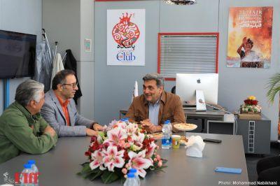 Tehran Mayor Pirouz Hanachi at 37th FIFF
