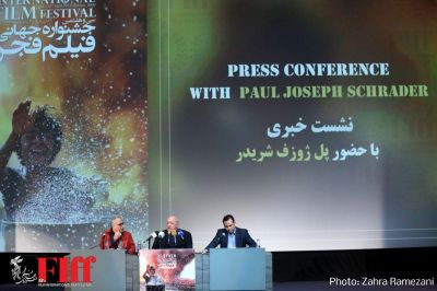 FIFF Presser with Paul Schrader