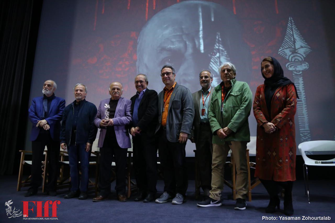 Ali Akbar Sadeghi Receives FIFF Silver Simorgh