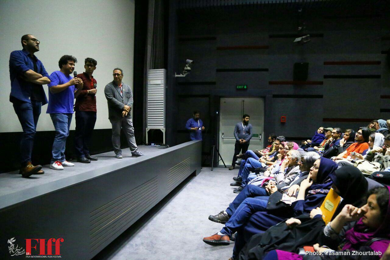 Presenting Kamran Heidari Orojloo's None of Your Business Documentary with Festival Director