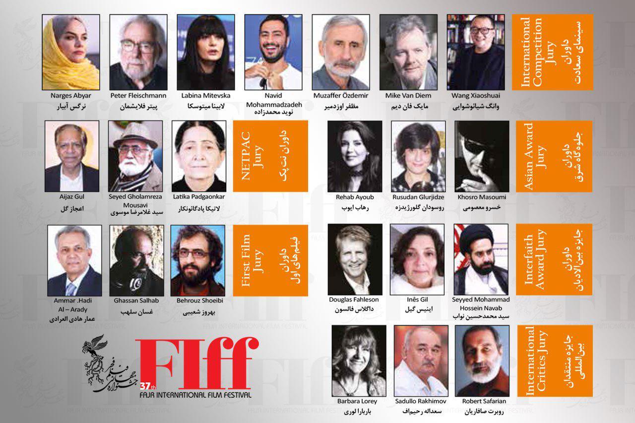 FIFF 2019 Jury Members