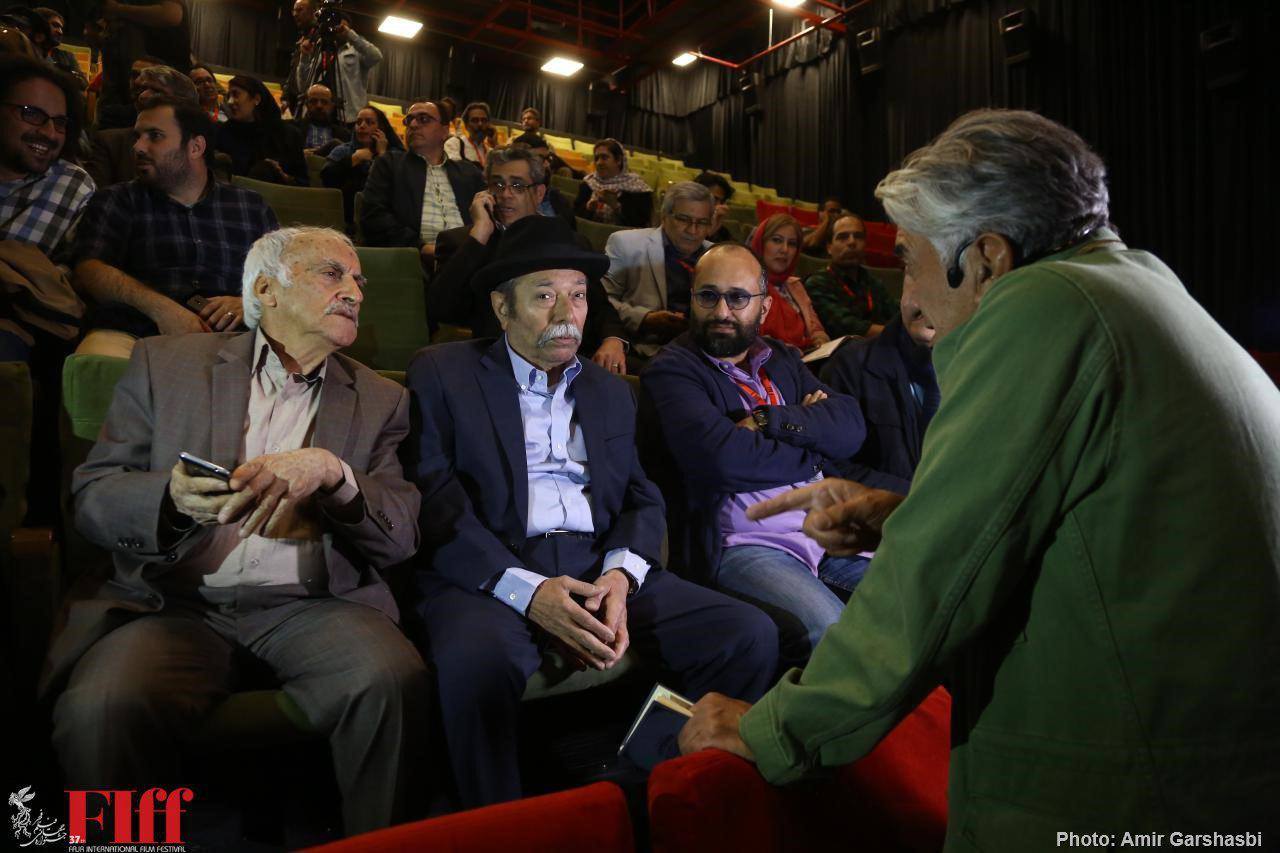 Ali Nasirian Attends Classic Movie Screening of The Cow at Fajr