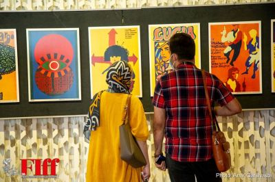 In Pictures: Film Posters Exhibition at FIFF 2021