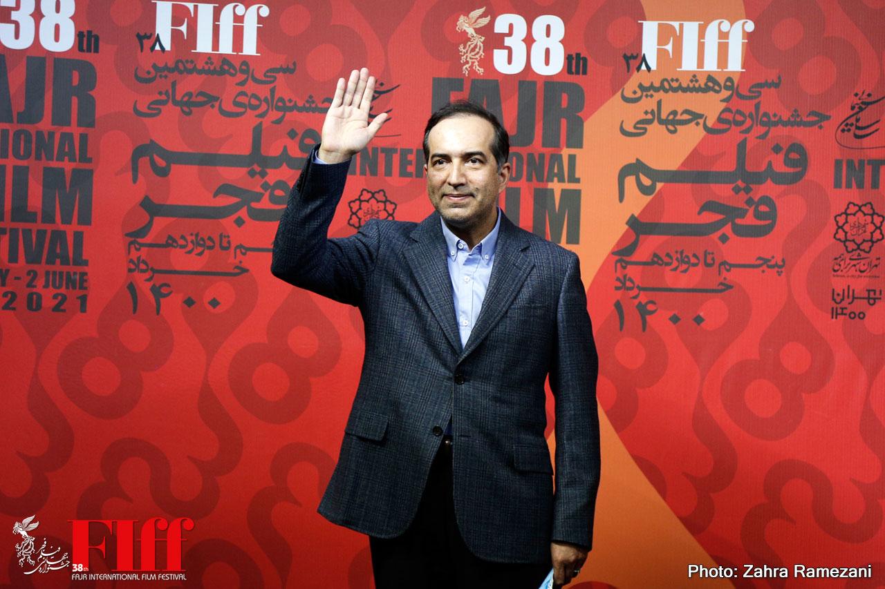 Hossein Entezami Visits 38th FIFF