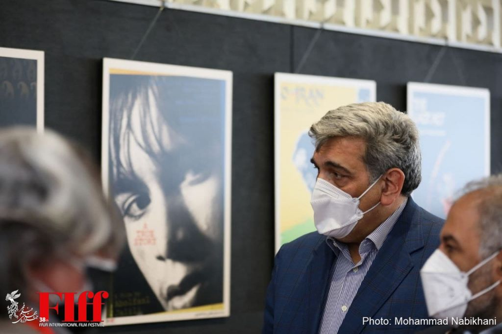 In Pictures: Tehran Mayor Visits 38th FIFF