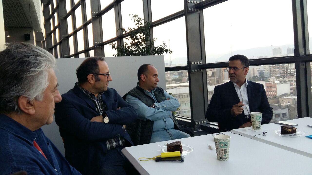 بازدید رییس سازمان سینمایی از کاخ جشنواره/ به نتیجه کار این تیم امیدوارم