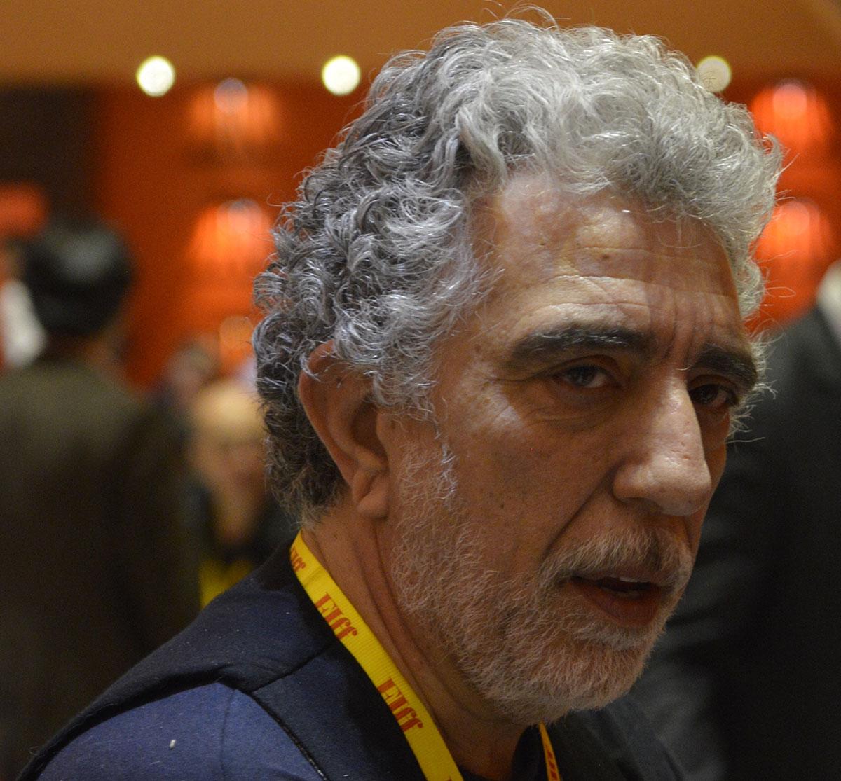 خوشحالم فرصت تبادل نظر با سینماگران ایرانی را دارم