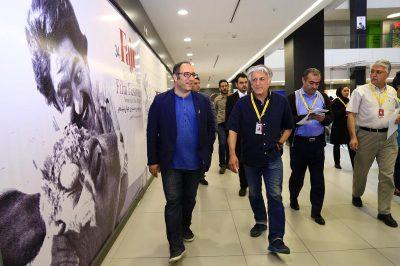 گزارش تصویری آماده سازی کاخ جشنواره جهانی فجر