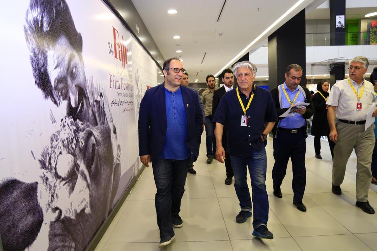 گزارش تصویری آمادهسازی کاخ جشنواره جهانی فجر