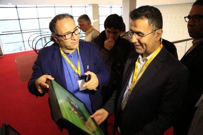 گزارش تصویری دیدار رییس سازمان سینمایی از کاخ جشنواره