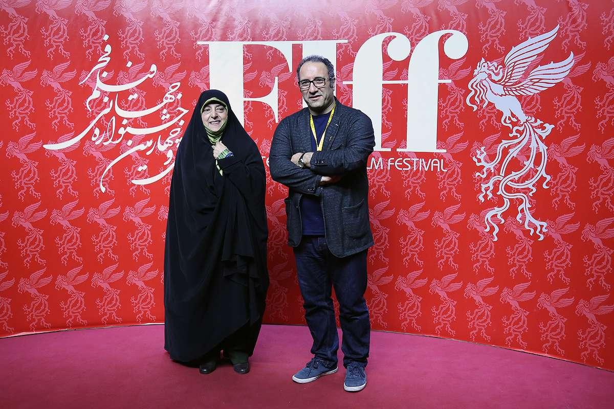 عکسهای حضور ابتکار در کاخ جشنواره