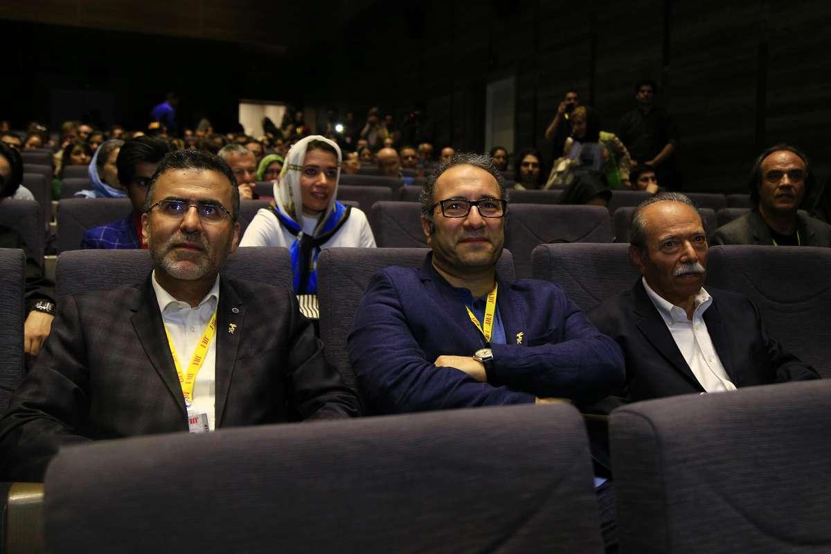 عکسهای نمایش فیلم گاو/ نصیریان در کاخ جشنواره