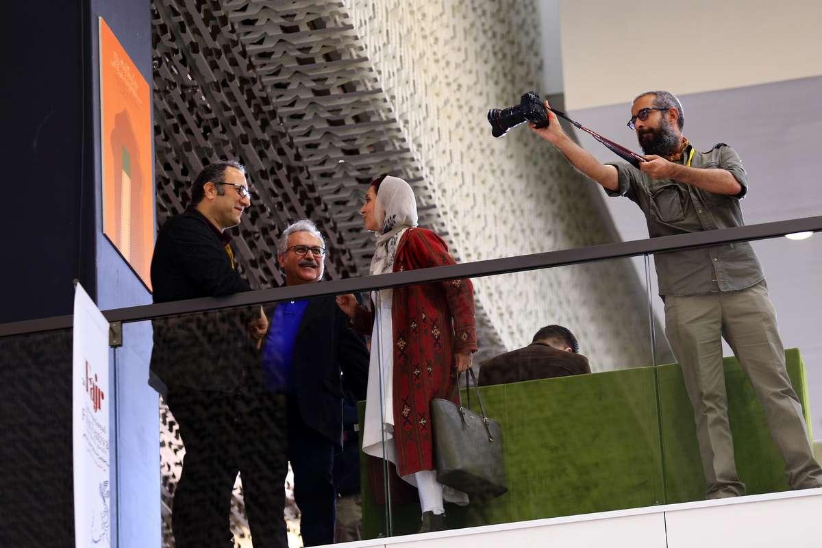 گزارش تصویری حاشیههای روز دوم جشنواره جهانی فیلم فجر/ ۲