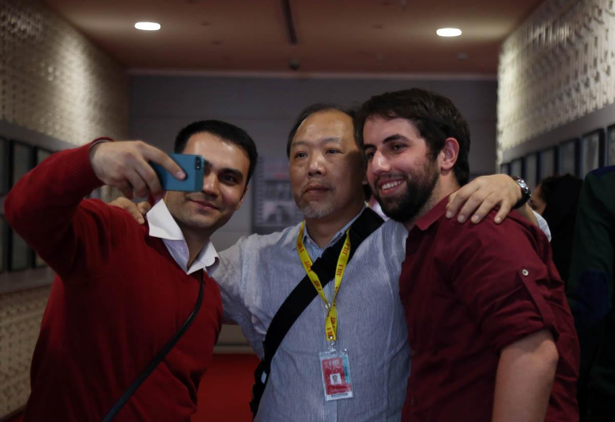 گزارش تصویری حاشیههای روز چهارم جشنواره جهانی فیلم فجر/ ۱