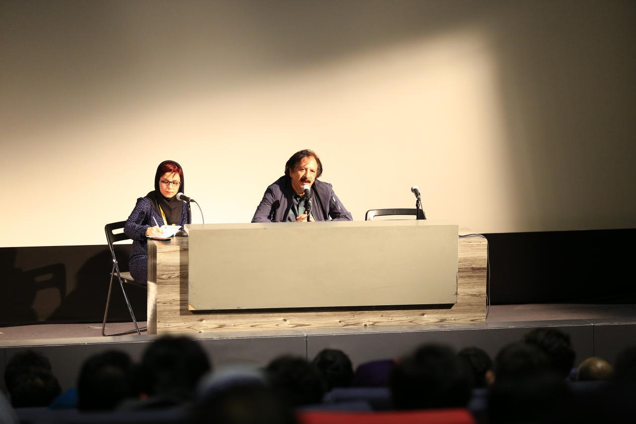 گزارش تصویری کارگاه مجید مجیدی در بخش «دار الفنون»