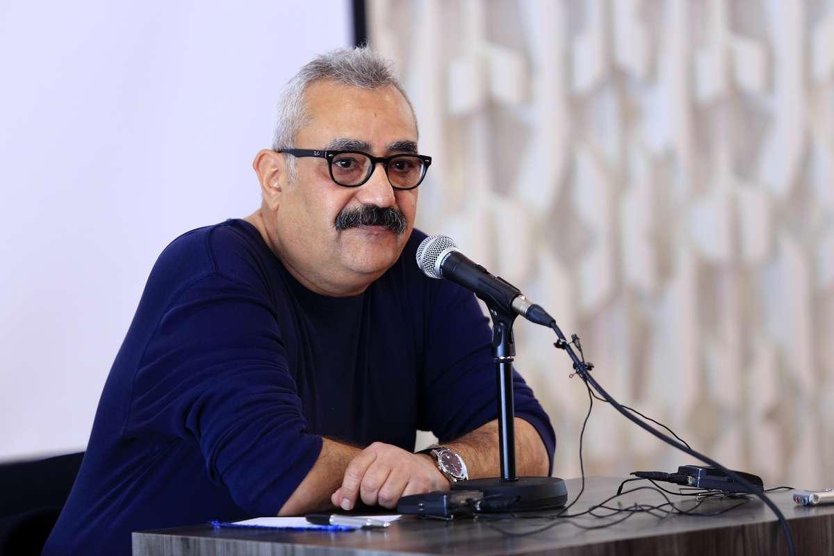 گزارش تصویری کارگاه فرزاد مؤتمن در بخش دارالفنون جشنواره