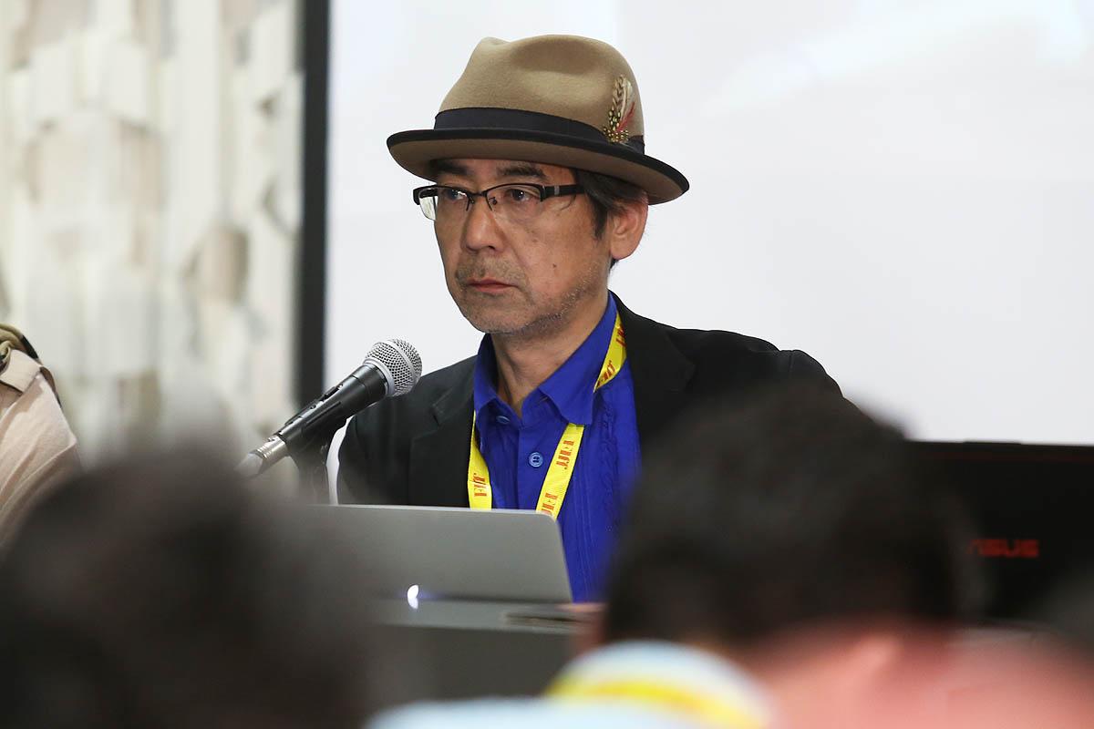 گزارش تصویری کارگاه نوبوهیرو سوا در بخش دارالفنون