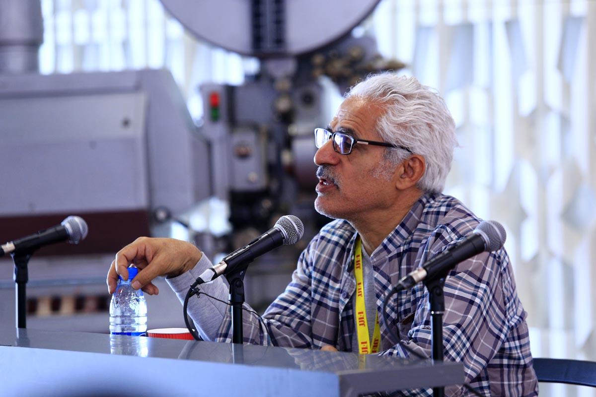 گزارش تصویری کارگاه مجتبی راعی در بخش دارالفنون