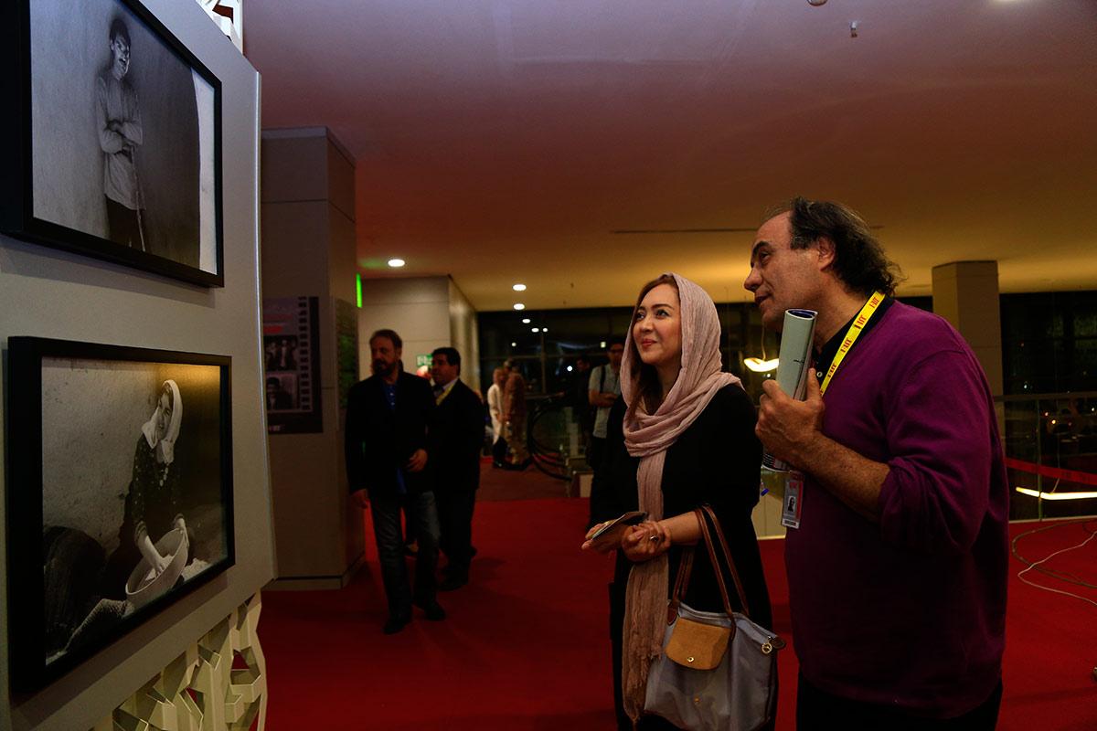نیکی کریمی و امین تارخ در کاخ جشنواره/ چهره ها در پردیس چارسو