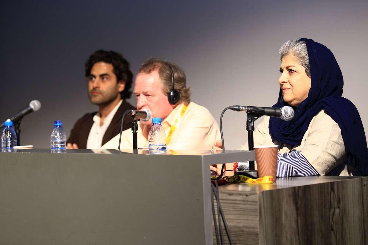 گزارش تصویری ورکشاپ مارک بشت در کاخ جشنواره