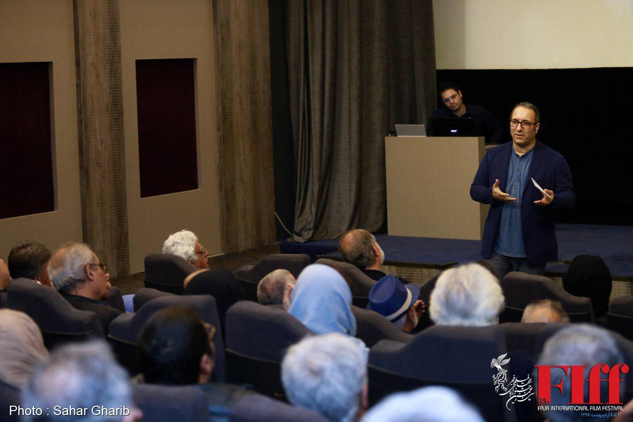 عکسهای جلسه گزارش کار دبیر جشنواره جهانی به سینماگران