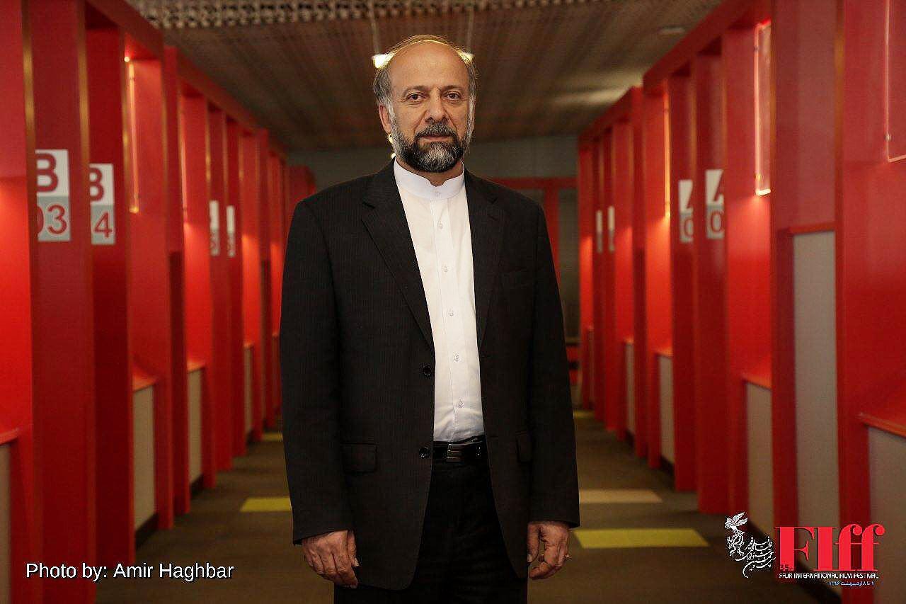 گزارش تصویری حضور رییس سازمان سینمایی در کاخ جشنواره جهانی فیلم فجر