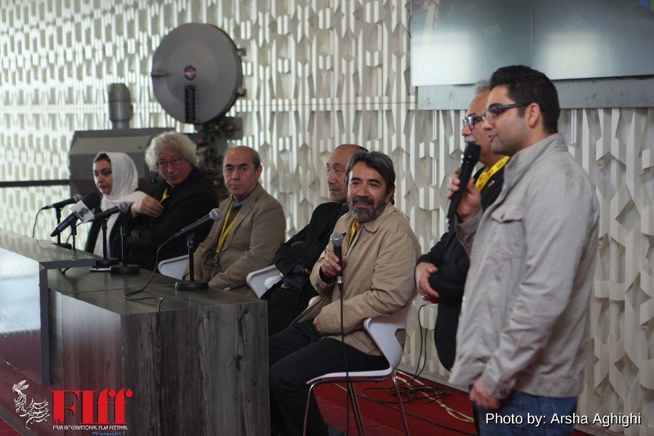 نشست خبری داوران سی و پنجمین جشنواره جهانی فیلم فجر برگزار شد