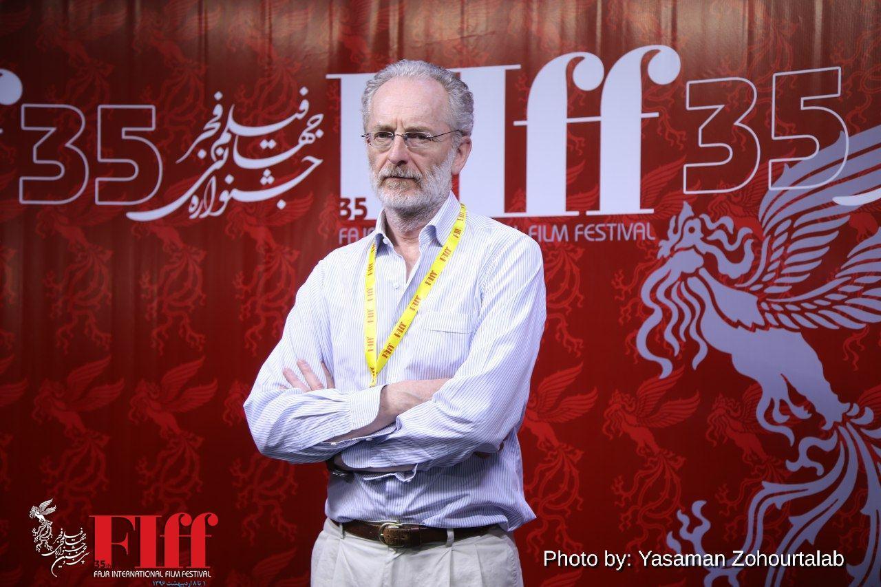 گفتوگو با اوبرتو پازولینی، تهیهکننده و کارگردان ایتالیایی/ سطح کیفی فیلمهای حاضر در جشنواره جهانی فیلم فجر بالا بود