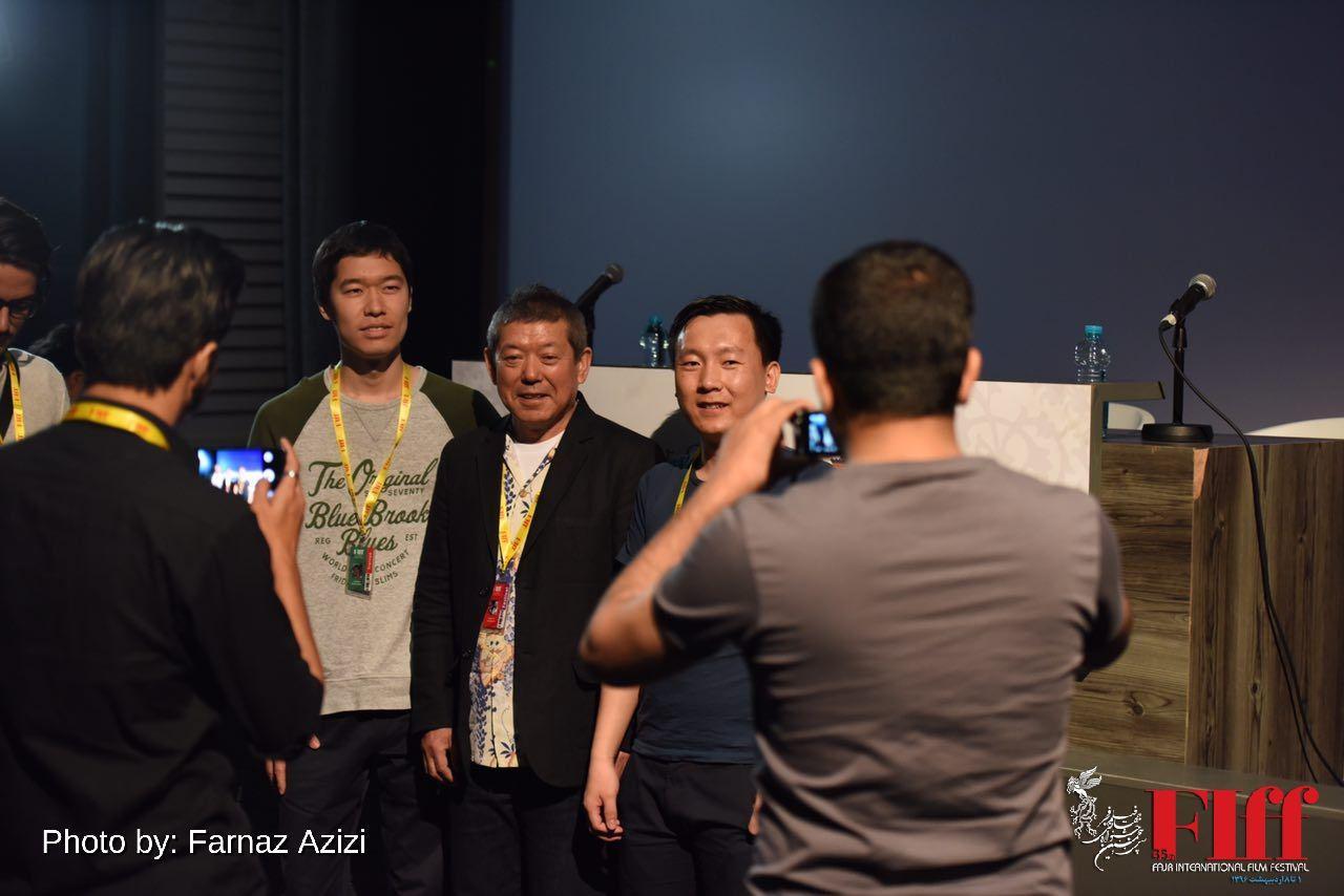 گزارش تصویری کارگاه آموزشی جیمی یاناگیجیما در بخش دارالفنون