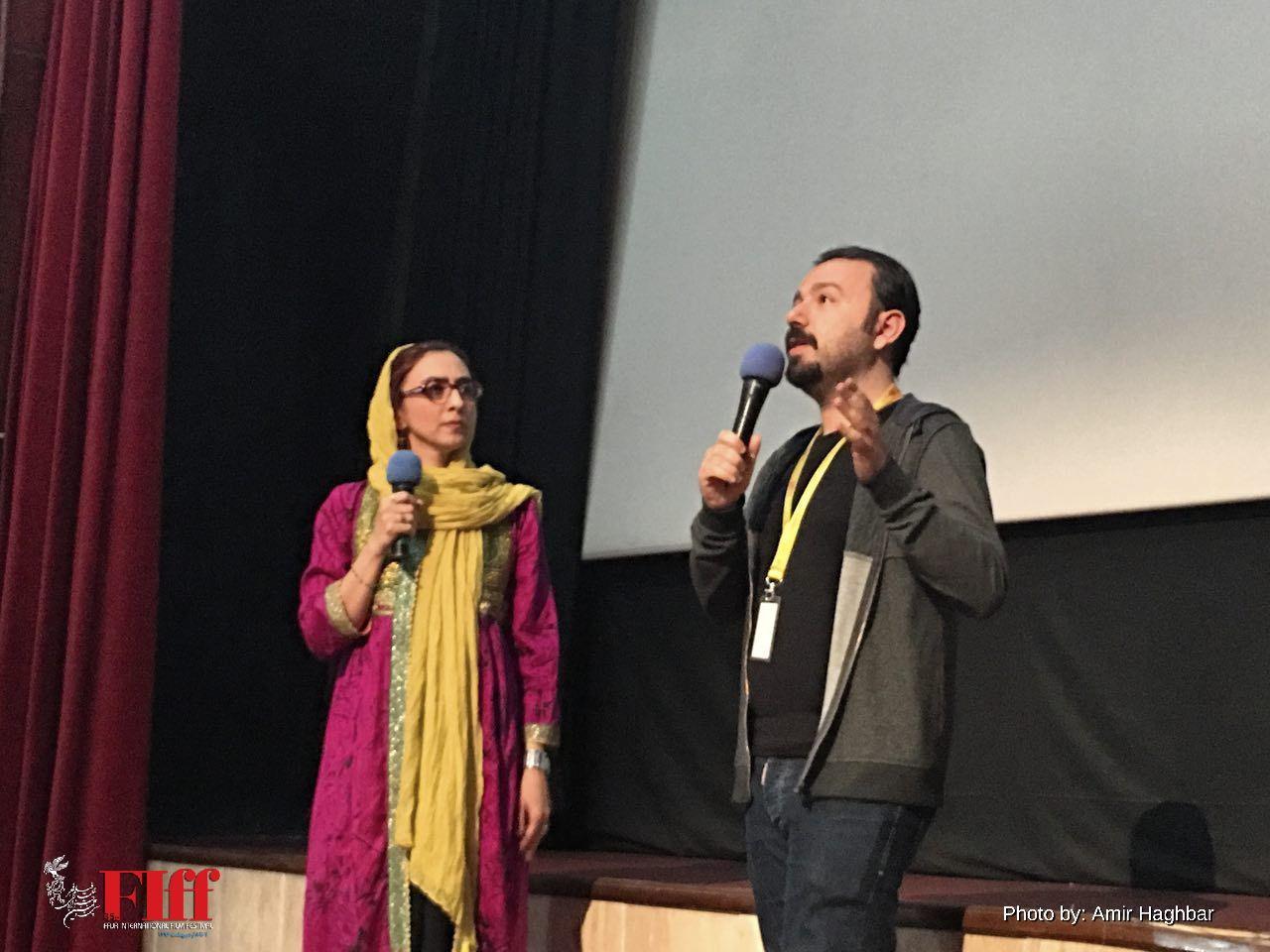 نخستین اکران فیلم «بالهای پدرم» در جشنواره جهانی فجر