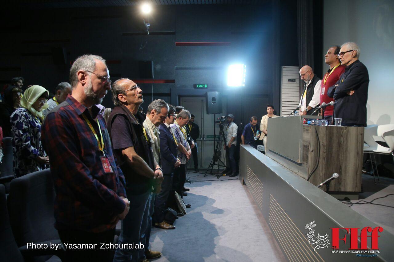 گزارش تصویری دومین مراسم بزرگداشت عباس کیارستمی در جشنواره جهانی