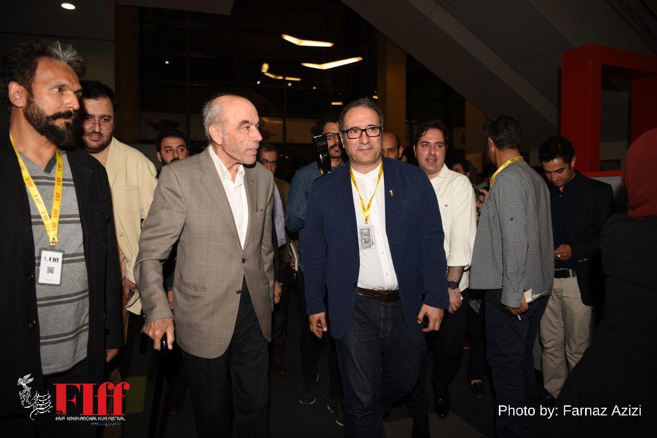 رضا داوری اردکانی در کاخ جشنواره جهانی حاضر شد