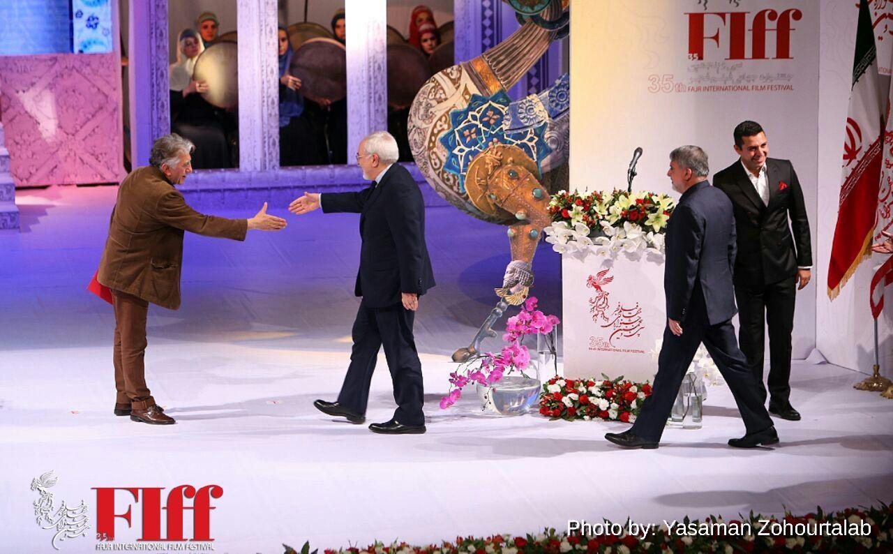 گزارش تصویری اختتامیه سی و پنجمین جشنواره جهانی فیلم فجر / ۲