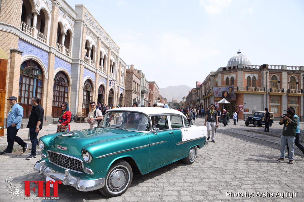 گزارش تصویری بازدید میهمانان خارجی جشنواره جهانی از شهرک سینمایی غزالی / ۱