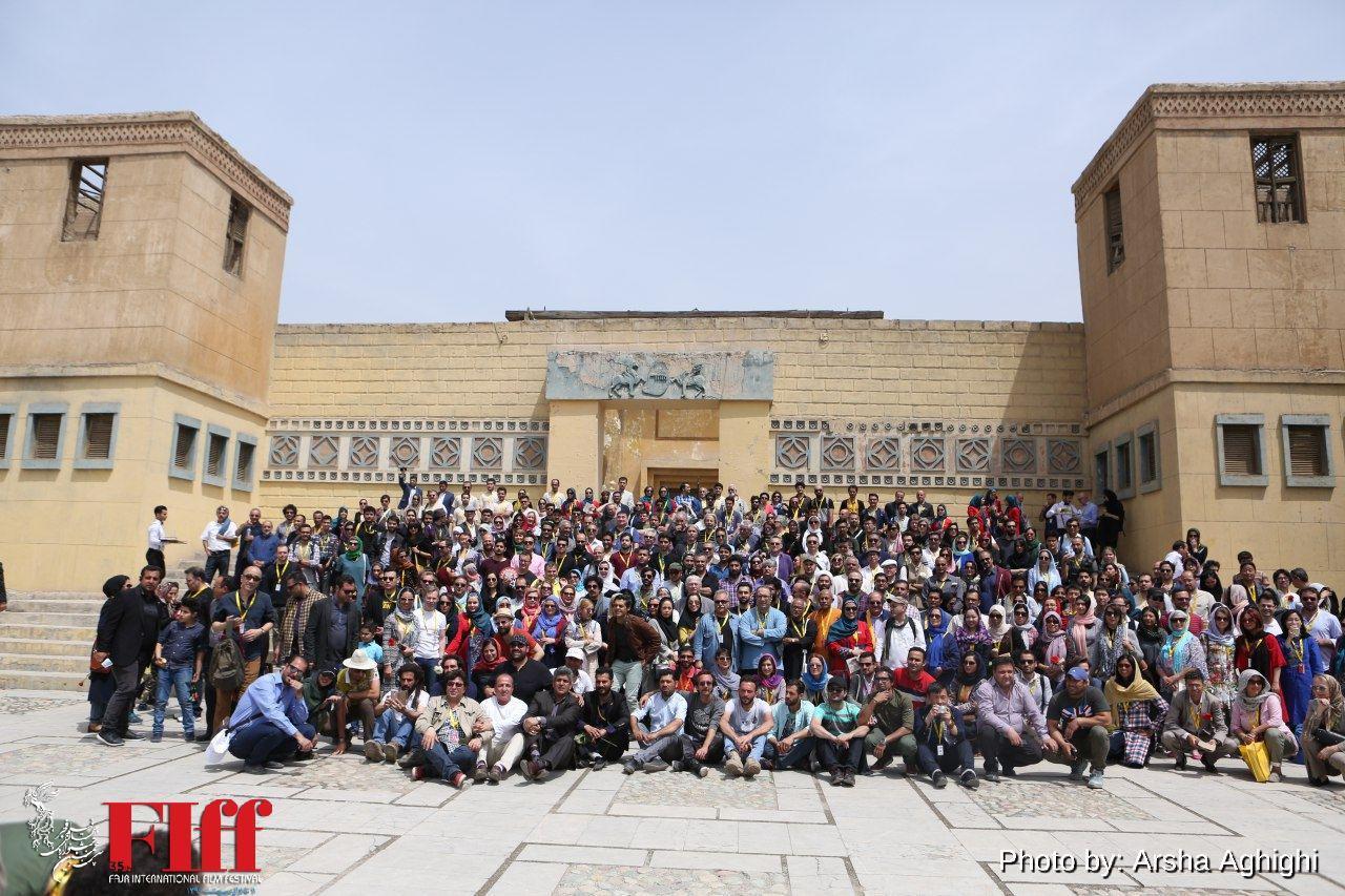 گزارش تصویری بازدید میهمانان خارجی جشنواره جهانی از شهرک سینمایی غزالی / ۲