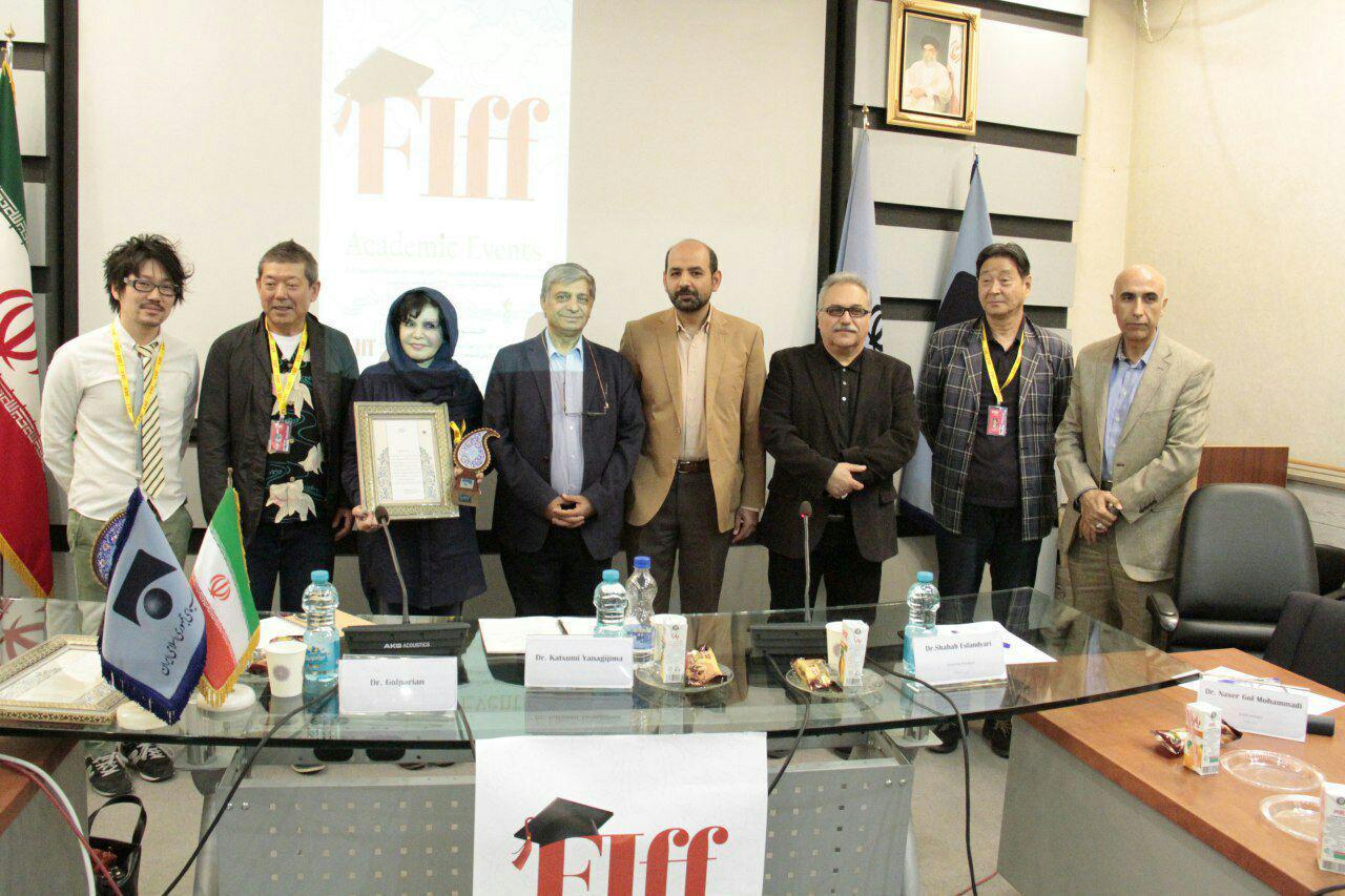 تقدیر از شهره گلپریان در جشنواره جهانی فیلم فجر