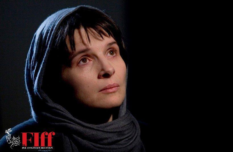 ژولیت بینوش بازیگر فیلم عباس کیارستمی در «کپی برابر اصل» / او عاشق زندگی بود
